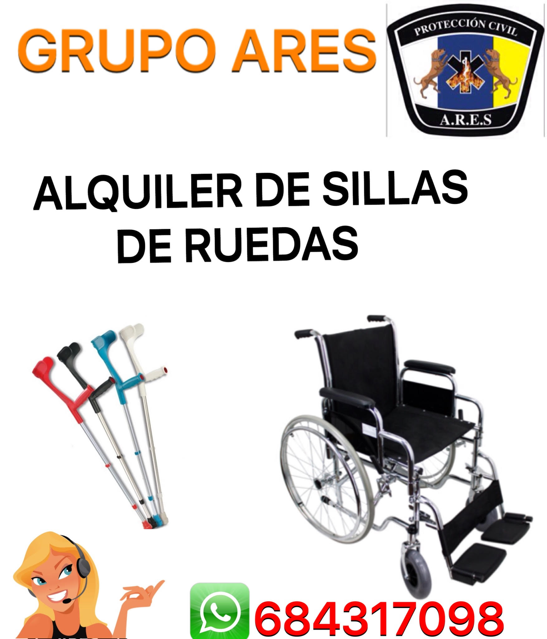 Alquiler de sillas de ruedas aresservicios for Pisos de alquiler en silla